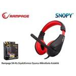 Snopy SN-R2K Rampage SN-R2 Oyuncu Siyah-kırmızı Mikrofonlu Kulaklık
