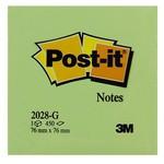 Post-It 3m Not Kağıdı 76 X 76 Mm Yeşil Tonları 450 Yaprak (2028g)