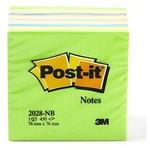 Post-It 3m Not Kağıdı 76 X 76 Mm Yeşil Tonları 450 Yaprak (2028nb)