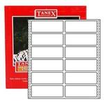 Tanex Yazıcı Etiketi Sürekli Form 35x97 Mm Model Tn-0017