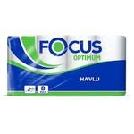 Focus Optimum Kağıt Havlu 90 Yaprak 8 Adet Rulo