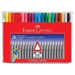 """Faber Castell Grip Finepen 0,4mm 20""""li Poşet"""