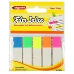 Bigpoint Yapışkanlı Film Index Beyaz 5 Renk
