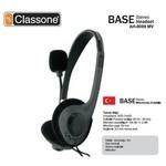 Classone Ah-9088mv Base Serisi Kulaklık , Mikrofonlu Ve Kablodan Ses Kontrol / Siyah
