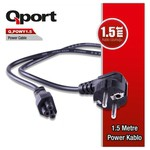 Q-Port Q-powy1_5 Qport Q-powy1.5 1.5 Metre Notebook Power Kablosu