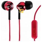 Sony Mdrex110apr.ce7 Kulakiçi Mikrofonlu Kulaklık Kırmızı