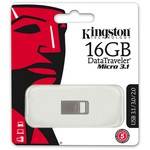 Kingston 16GB DataTraveler Micro 3.1 DTMC3-16 USB 3.0 USB Bellek