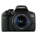 Canon EOS 750D Kit (18-55MM IS STM) DSLR Fotoğraf Makinesi