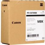 Canon PFI-307MBK 330ml Siyah mürekkep kartuşu - 9810B001