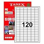 Tanex Yazıcı Etiketi 31x14 Mm 12.000 Adet Model Tw-2120
