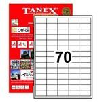 Tanex Yazıcı Etiketi 40x20 Mm 7000 Adet Model Tw-2270