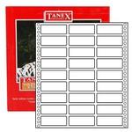 Tanex Yazıcı Etiketi Sürekli Form 20x55 Mm Model Tn-0011