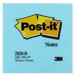 Post-It 3M Not Kağıdı 76 x 76 mm Mavi Tonları 450 Yaprak (2028B)