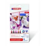 Edding Ed4200k6999 Porselen Kalemi 6'lı Set Sıcak Renkler