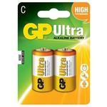 GP 14au Lr14 Ultra Alkalin Orta Boy C Pil 2'li Paket