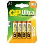 GP Ultra Alkalin Aa Pil 4 Adet