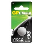 GP Lithium Pil 3v Model Cr2032