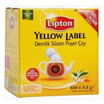 Lipton Yellow Label Demlik Poşet Çay 3.2 g 500 Adet