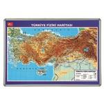 Interpano Inter Türkiye Fiziki Haritası 70x100 Lamine 815l