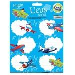 Crea Tiket Creatiket 1043 Uçuş Serisi Okul Etiketi