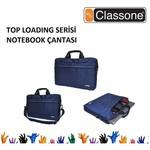 """Classone TL2563 TopLoading 15.6"""" Laptop Çantası - Lacivert"""