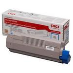 OKI 43872323 Mavi Toner - 5000 Sayfa