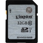 Kingston 32gb Sd Cl10 Uhs-ı Sd10vg2/32gb