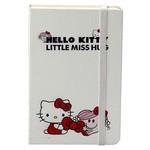 Keskin Color 9 X 14 Cm Lastikli Çizgili Not Defteri Hello Kitty