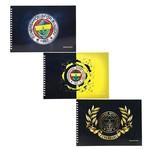 Keskin Color 17x25 Fenerbahçe Resim Defteri 15 Yaprak