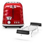 Delonghi CTJ 2103.R Brillante Ekmek Kızartma Makinesi