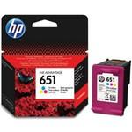 HP C2P11AE 651 InkAdvantage Üç Renkli Kartuş