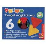 Primo Üçgen Sihirli Mum Boya 6 Renk