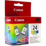Canon BCI-24C 2'Lİ Mavi