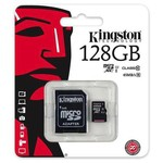 Kingston 128g Micrsd Cl10 Sdc10g2/128gb