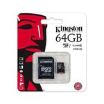 Kingston 64GB Class 10 UHS-I microSDXC Kart (SDC10G2/64GB)