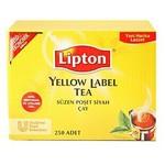 Lipton Yellow Label Bardak Poşet Çay Ekonomik Ambalaj 250 Adet