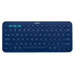 Logitech K380 Bluetooth Q Klavye - Mavi (920-007587)