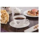 Neva N1017 Rosemary Dantels 12 Prç. Beyaz Kahve Takımı