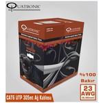 Quatronic Cat6 305m 23awg (0,56mm) Utp %100 Bakır Ağ Kablosu