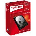 Toshiba P300 2TB High-Performance Hard Disk - HDWD120EZSTA