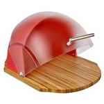 Neva N1162 Sweet Oval Ahşap Ekmeklik Kırmızı