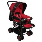 Mcrae Mc 720 Enjoy Dört Mevsim Çift Yönlü Bebek Arabası - Kırmızı