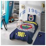 Taç Fenerbahçe Marşlı Logo Yatak Örtüsü
