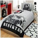 Taç Beşiktaş Şanlı Kartal Yatak Örtüsü