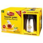 Lipton Yellow Label Demlik Poşet Çay 500'lü Paket Termos Hediyeli