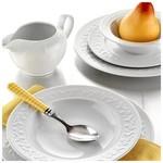 Kütahya Porselen Mitterteich Silvia 12 Kişilik 83 Parça Kabartmalı Yemek Takımı