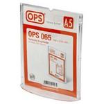 OPS -064 A5 Dikey Afiş Taşıyıcı