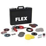 Flex Fle147125 Avuç Taşlama Seti, 1400w, 125mm