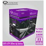 Quatronic Cat6 305m 23awg %100 Bakır Lszh(110154)
