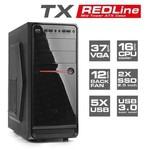 TX Redline 500w Mid Tower Kasa (TXCHRDL500)